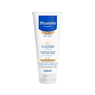 Mustela Body Lotion With Cold Cream Nutri - Protective Cold Cream İçeren Besleyici Vücut Losyonu 200 Ml